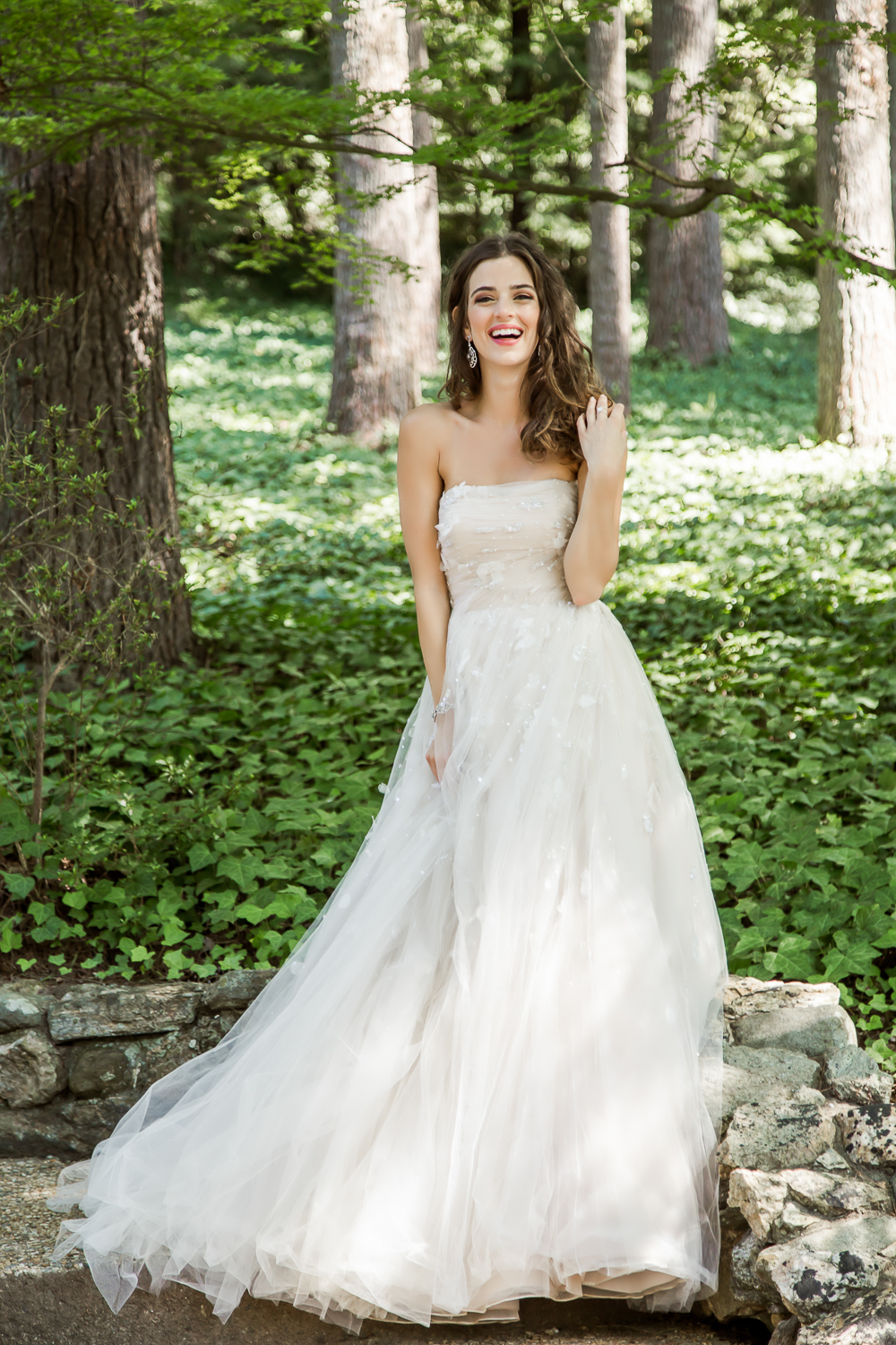 southern bride shoot with laveii haircare with Janice Allen Salon